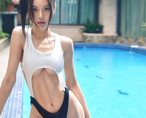 Choáng với thân hình 12% mỡ của nữ hoàng phòng gym Malaysia - Hình 4