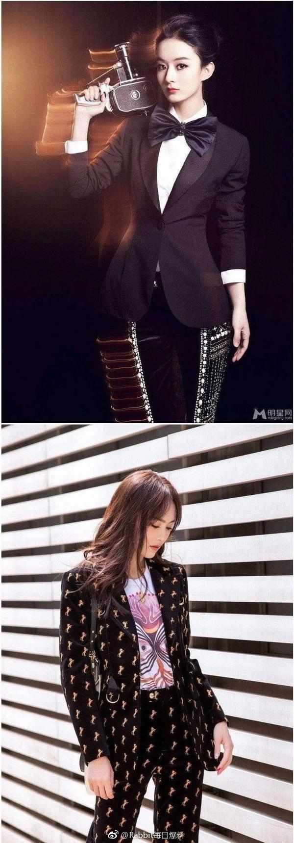 Điểm lại những lần nữ cải nam trang trên tạp chí Trung Quốc khiến bao fan girl muốn bẻ cong giới tính - Hình 2