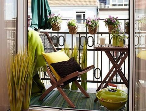 21 Mẫu ban công chung cư đẹp cho cuộc sống thêm hiện đại, tươi mới - Hình 26