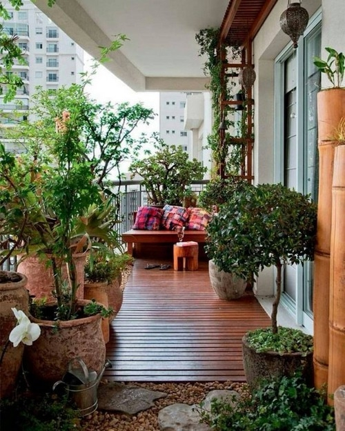 21 Mẫu ban công chung cư đẹp cho cuộc sống thêm hiện đại, tươi mới - Hình 15
