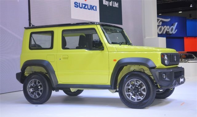 Cận cảnh Suzuki Jimny mới ra mắt tại Thái Lan, giá cao ngất ngưởng - Hình 7