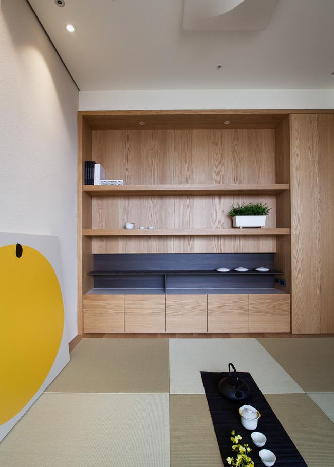 Căn hộ chung cư thiết kế thoáng đẹp như nhà vườn mang đậm chất Nhật Bản - Hình 3
