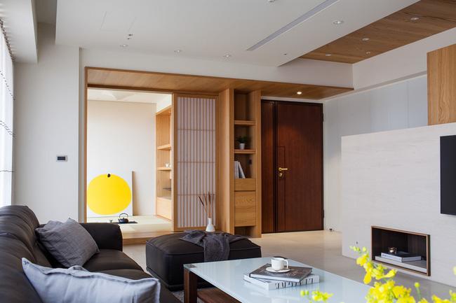Căn hộ chung cư thiết kế thoáng đẹp như nhà vườn mang đậm chất Nhật Bản - Hình 2