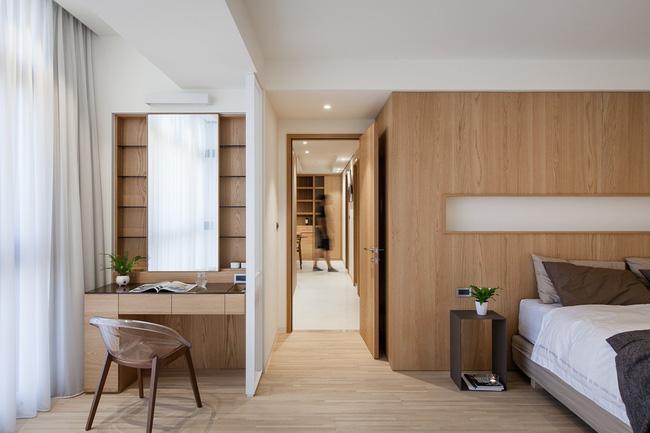 Căn hộ chung cư thiết kế thoáng đẹp như nhà vườn mang đậm chất Nhật Bản - Hình 16