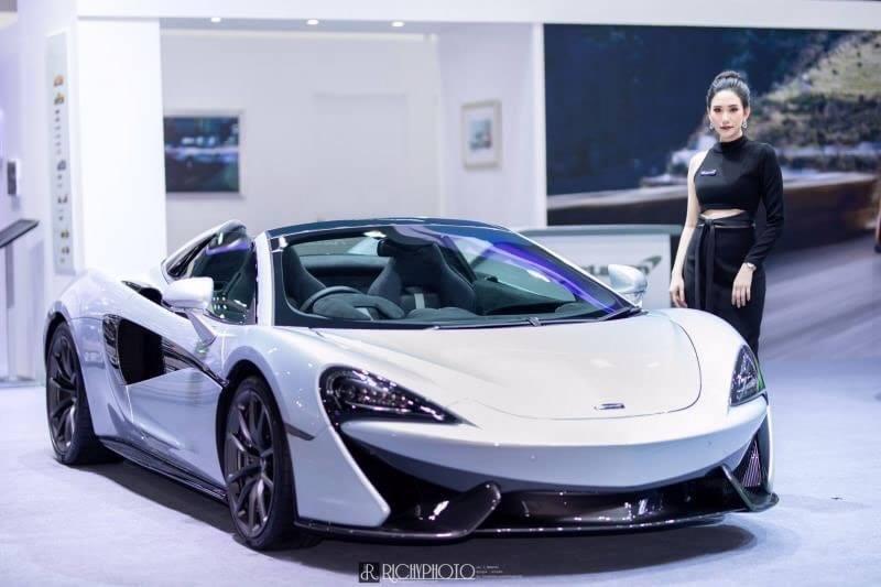 Dàn người đẹp gợi cảm trong gian hàng của McLaren tại triển lãm Bangkok 2019 - Hình 6