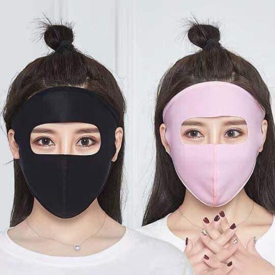 Hết mốt áo chống nắng như bao tải, hè năm nay chị em lại đổ xô đi mua khẩu trang ninja kín mít, hở mỗi 2 con mắt - Hình 7