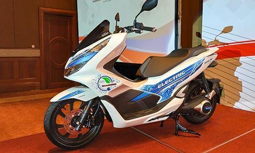 Mẫu xe điện đầu tiên của Honda ở Việt Nam lộ diện - Hình 1
