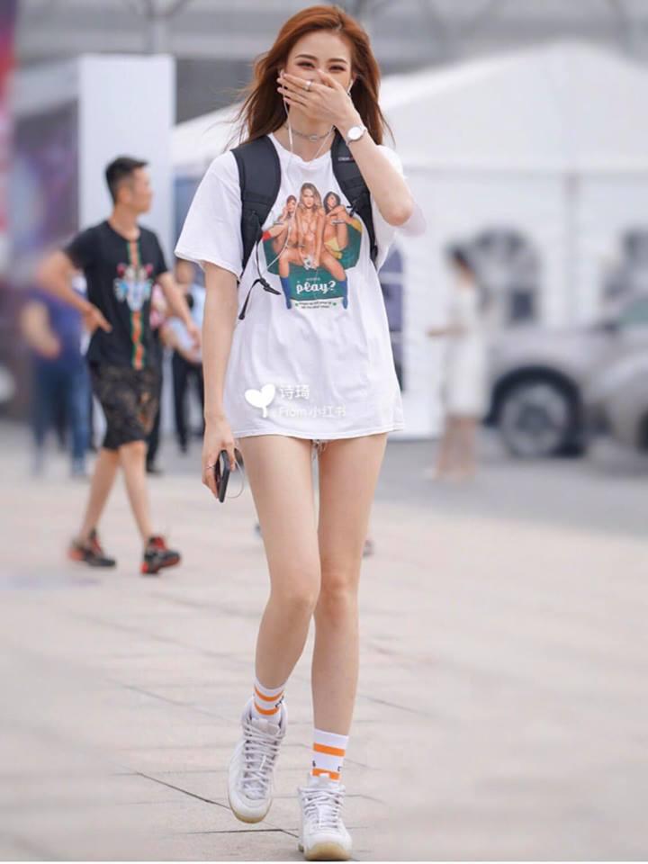 Mùa hè đến rồi, học cách mix đồ từ streetstyle của giới trẻ Trung Quốc thôi - Hình 5