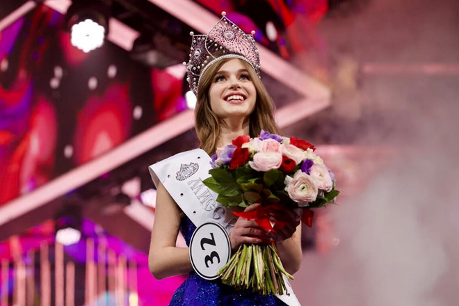 Cô gái 20 tuổi đẹp tựa thiên thần đăng quang Hoa hậu Nga 2019 - Hình 2