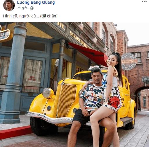 Lương Bằng Quang nói gì về nghi vấn chia tay Ngân 98, thẳng tay chặn luôn Facebook cho đỡ phiền? - Hình 1
