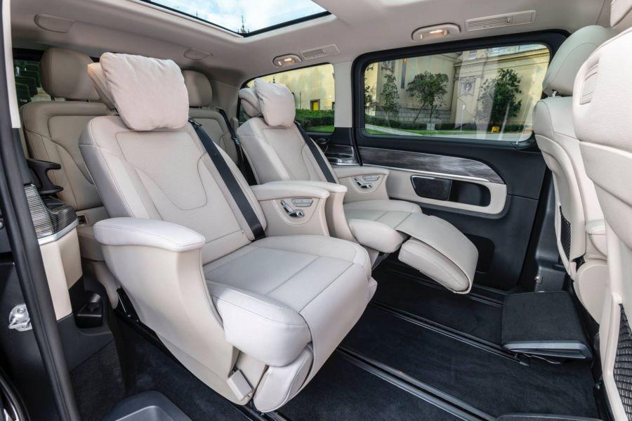 Mercedes V-Class 2019 - chiếc minivan sang trọng và đẳng cấp qua loạt ảnh chi tiết - Hình 4