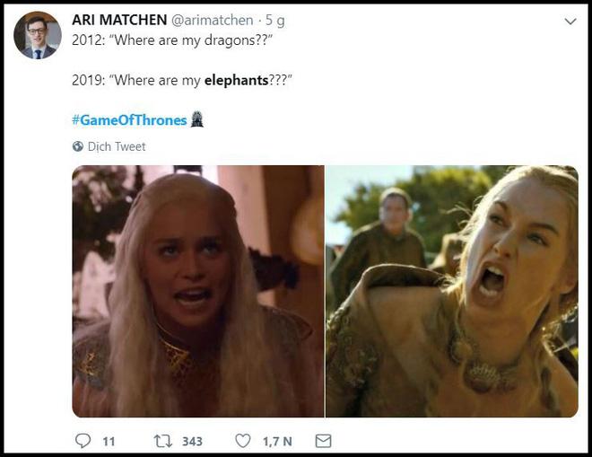 Muôn kiểu phản ứng của khán giả trước cảnh mở màn của Game of Thrones - Hình 7