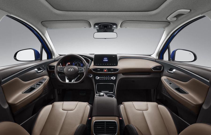 Hyundai Santa Fe 2019 bản trục cơ sở kéo dài chính thức trình làng tại Trung Quốc - Hình 3