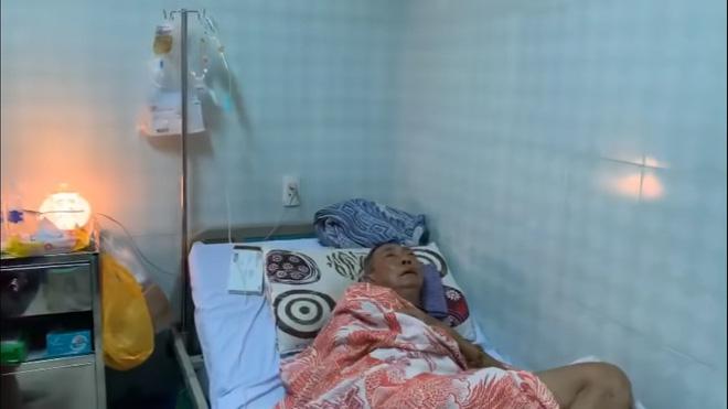 Nghệ sĩ Lê Bình 3 ngày không ăn, đau đớn bật khóc khi Đại Nghĩa, Trịnh Kim Chi đến thăm - Hình 2