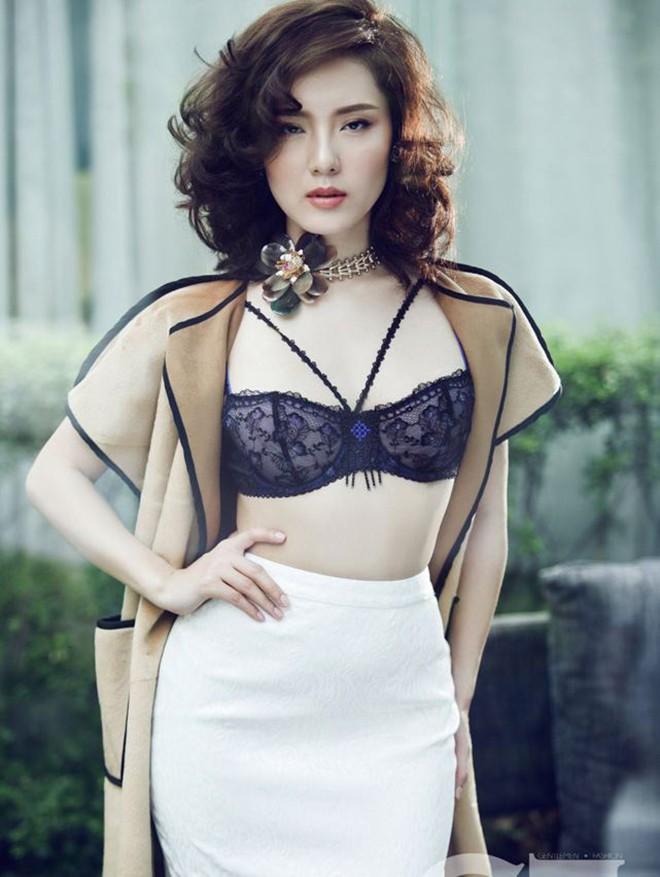 Phương Linh khoe loạt ảnh bikini mới, để lộ nhược điểm - Hình 9