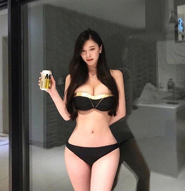 3 cô gái Hàn mặt ngây thơ, thân hình đẹp ngất ngây - Hình 6
