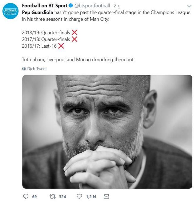 Pep Guardiola bị chế giễu vì màn ăn mừng hụt hài hước - Hình 7
