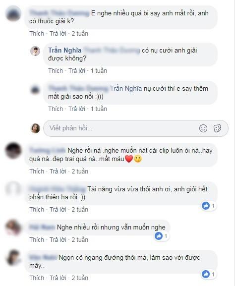 Trần Nghĩa cover ca khúc do anh làm nam chính, fan lập tức đòi thuốc giải vì... trúng độc say tình - Hình 2