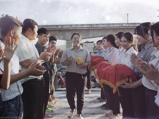 Bộ ảnh kỷ yếu sáng tạo vô đối của học sinh Bạc Liêu, tái hiện đám cưới hoài cổ miền sông nước cực đỉnh - Hình 6