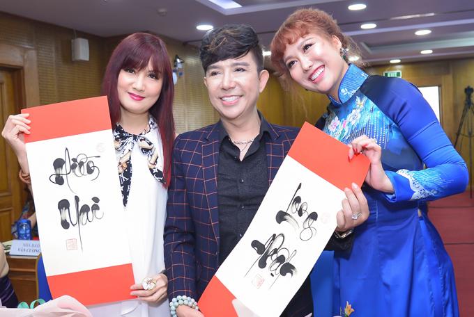Hiền Mai và các đồng nghiệp ủng hộ sự kiện của Phi Thanh Vân - Hình 7