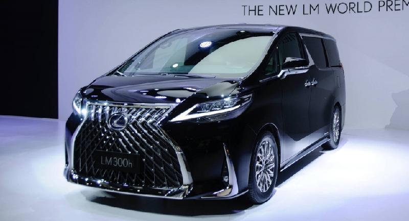 Lexus LM ra mắt minivan hạng sang với nội thất đẳng cấp - Hình 1