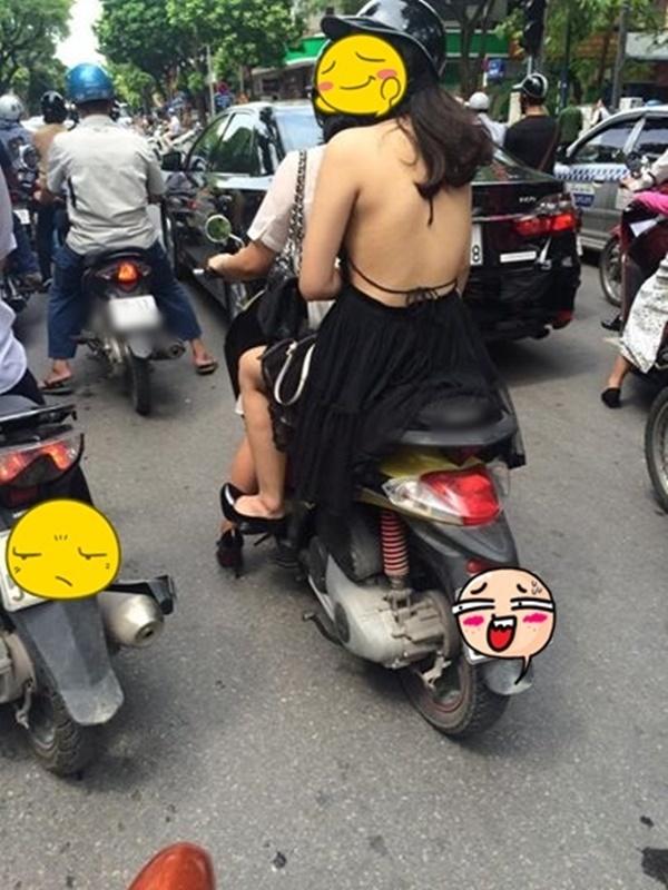 Muốn nổ mắt trước đại hội phô thân trên đường phố Hà Nội, vừa mới nóng 1 tí thôi mà! - Hình 2
