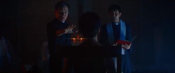 'The Divine Fury': Phim điện ảnh của Park Seo Joon trong vai trò 'giải cứu thế giới' tung trailer ma quái cực đỉnh - Hình 4