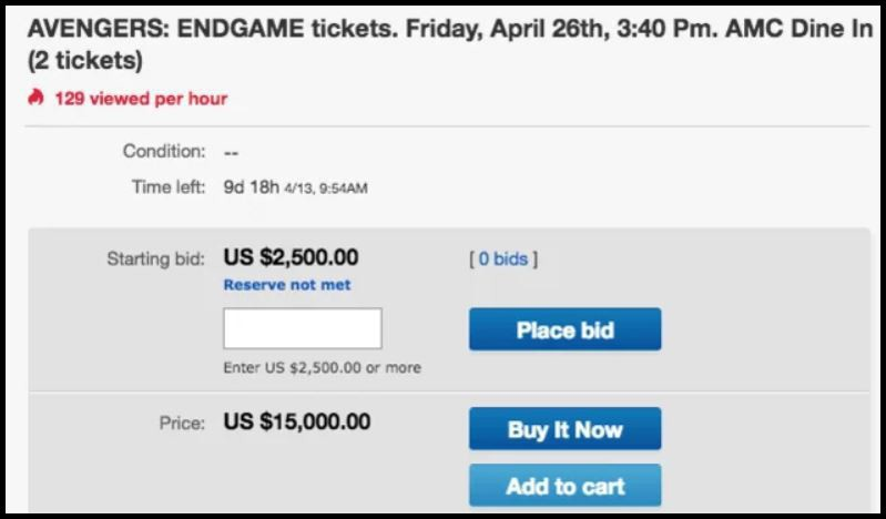 Cuộc chiến vé Endgame: Cả thế giới bất chấp vung tiền mua bằng được, fan Việt thì lên... Đà Lạt săn vé rẻ - Hình 1