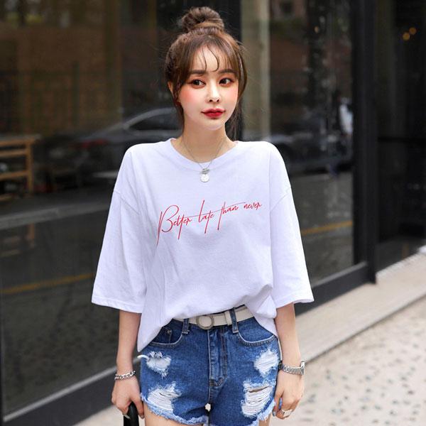 Mặc đẹp mỗi ngày: Mix áo phông style cho ngày cuối tuần - Hình 1