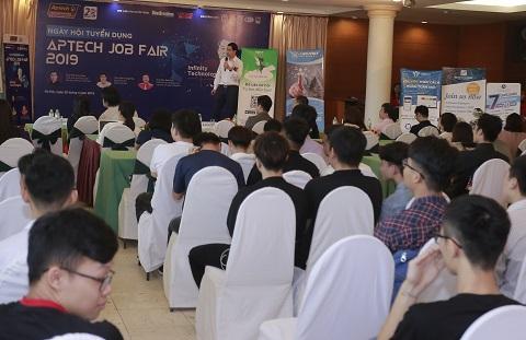 Ngày hội tuyển dụng Aptech job fair 2019: Cơ hội tìm việc làm của sinh viên CNTT - Hình 1