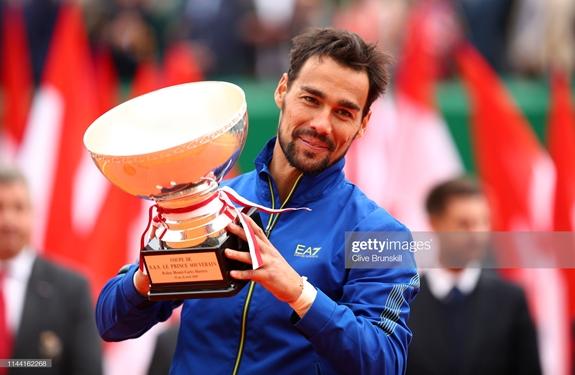Fabio Fognini vô địch Giải quần vợt Monte Carlo 2019 - Hình 1
