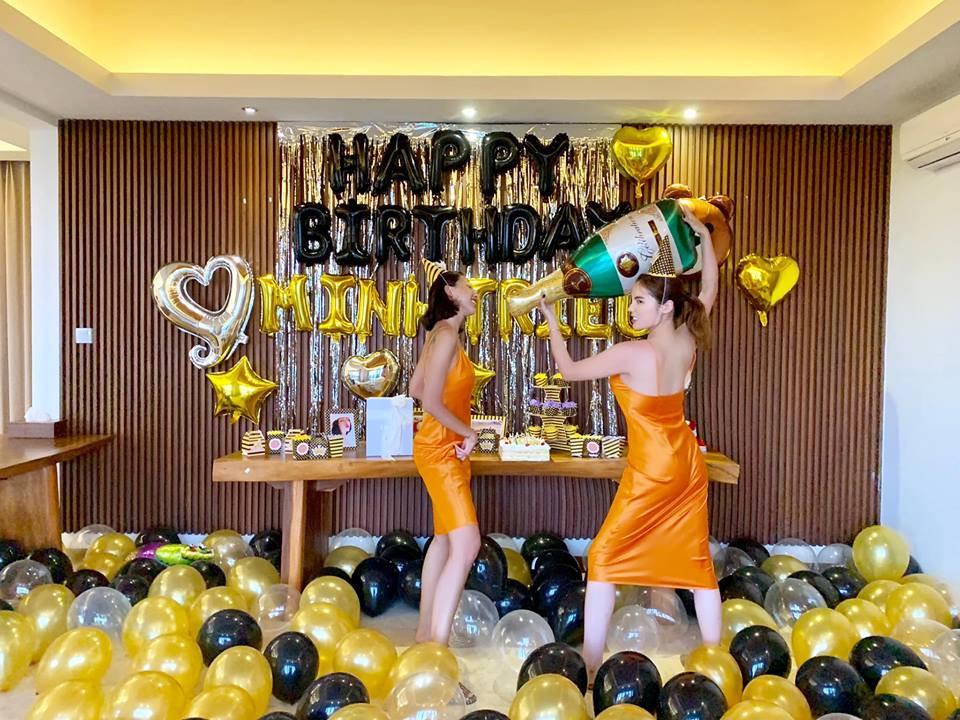 Kỳ Duyên diện đồ đôi, tổ chức sinh nhật bất ngờ cho Minh Triệu ở Bali - Hình 2
