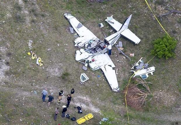 Mỹ: 6 người thiệt mạng trong vụ rơi máy bay ở bang Texas - Hình 1