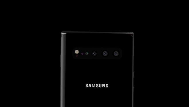 Ngắm concept Galaxy Note 10 với thiết kế màn hình Infinity-O hoàn hảo, 4 camera ở mặt lưng - Hình 3