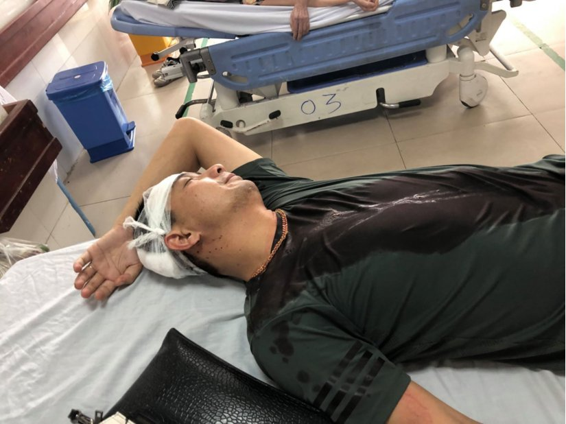 Bắc Ninh : Anh trai tố bị em ruột đánh nhập viện - Hình 2