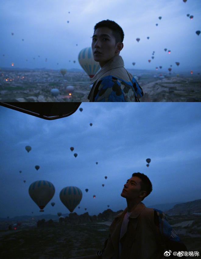 Bộ ảnh nhận 120.000 share của Dương Dương: Chỉ là chụp với khinh khí cầu thôi có cần đẹp trai đến thế không? - Hình 2