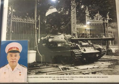 Hồi ức người lính trên xe tăng tiến vào dinh Độc Lập - Hình 1