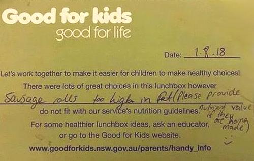 Bà mẹ Australia tức giận vì nhà trường gửi trả cơm trưa của con trai - Hình 1