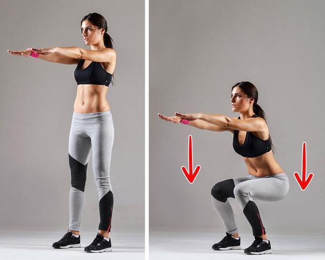 Dù nghỉ lễ cũng đừng tiếc 5 phút mỗi ngày tập 5 bài tập sau để giảm mỡ đùi, làm thon nuột đôi chân - Hình 1