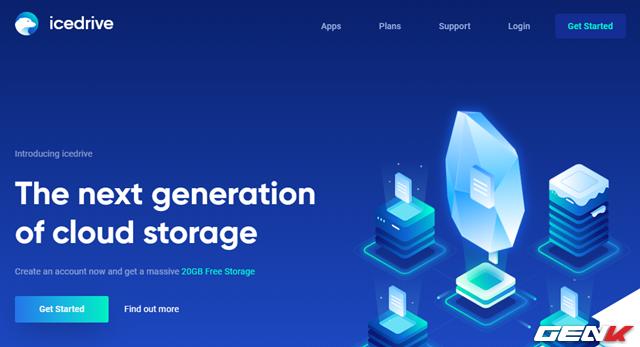 Dùng thử Icedrive, dịch vụ lưu trữ đám mây rất dễ sử dụng với 20GB không gian lưu trữ miễn phí - Hình 1