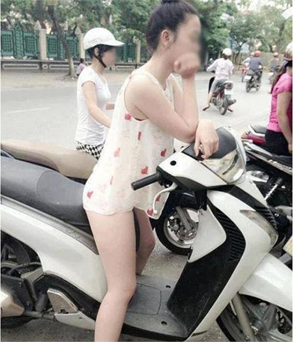 Giữa cái nắng mùa hè, cô gái quên mặc quần ra đường khiến dân tình nhìn vào cũng nóng mắt theo - Hình 4