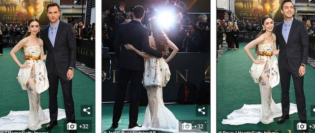 Lily Collins xinh đẹp như công chúa - Hình 2