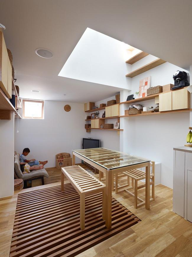 Một mình một kiểu nhưng ngôi nhà siêu nhỏ ở Nhật Bản vẫn gây ấn tượng vì sự thoải mái và tiện nghi - Hình 4