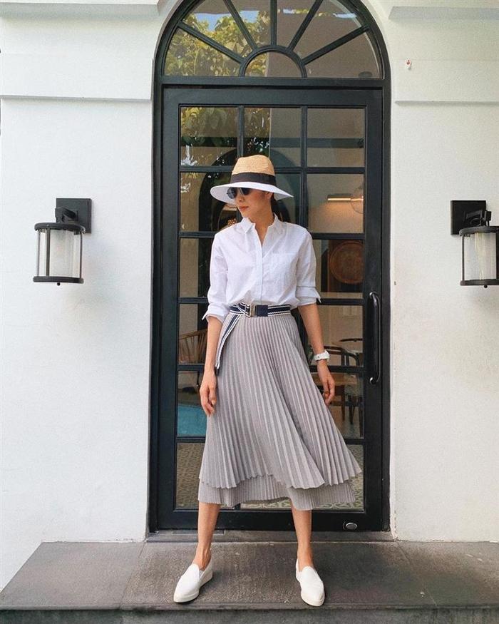 Phong cách sao Việt: Ngọc Trinh khoe đôi chân cực phẩm, Đỗ Mỹ Linh mắc lỗi đồ nhỏ - Hình 10
