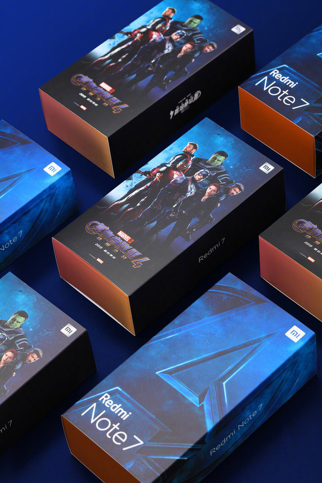 Xiaomi ra mắt Redmi Note 7 & Redmi 7 phiên bản Avengers - Hình 1