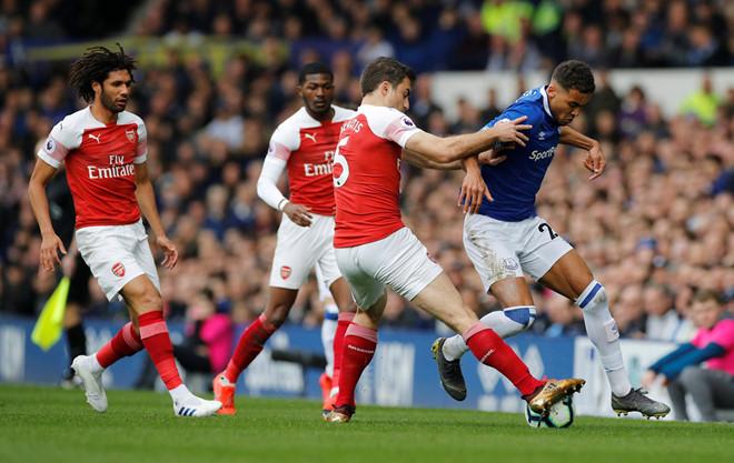 Thất bại trước Everton, Arsenal đứng trước nỗi lo mất vé dự Champions League - Hình 1
