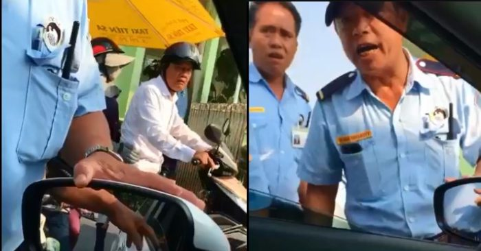 Clip: Không trả 5 ngàn, tài xế taxi bị nhân viên bảo vệ Bệnh viện ở Đà Nẵng doạ đánh - Hình 1