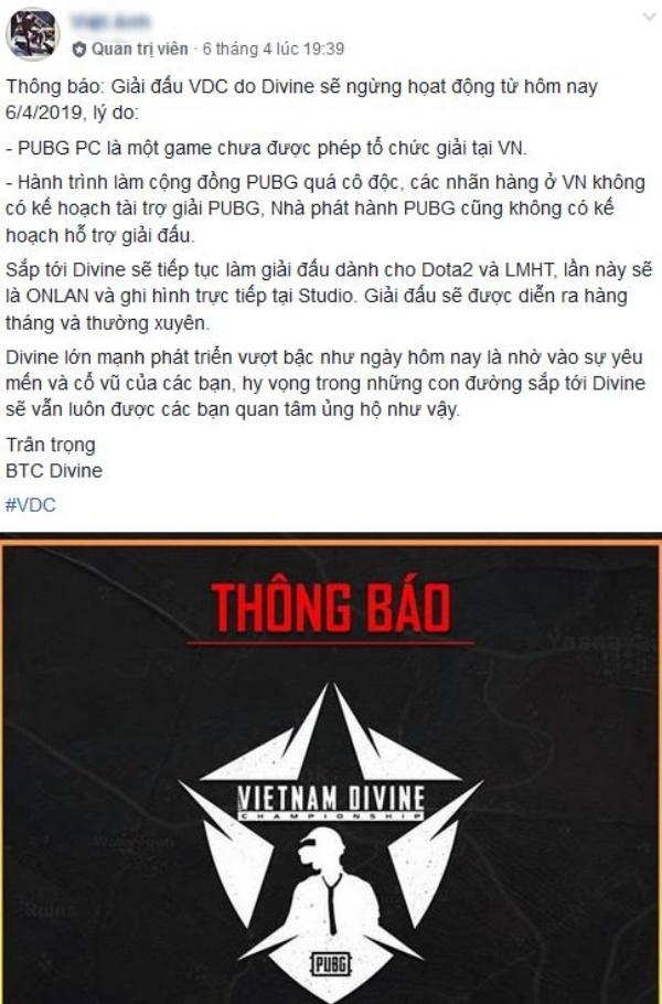 Giải Pubg PC nhà nghề duy nhất tại Việt Nam dừng hoạt động, tương lai các đội tuyển sẽ đi về đâu? - Hình 1