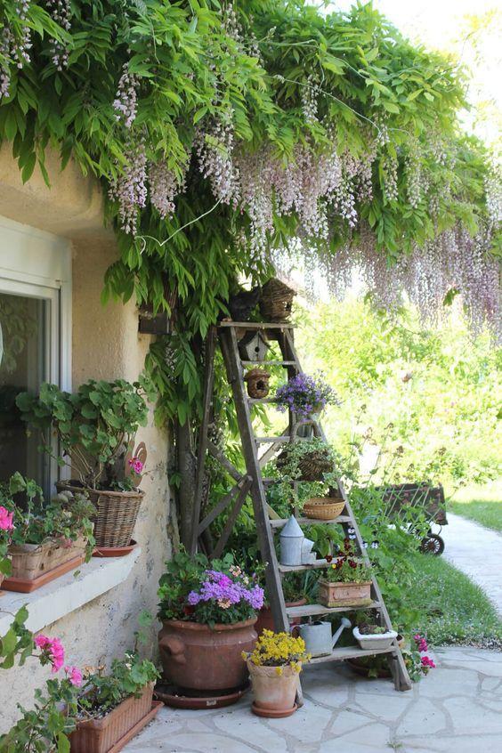 Mách nhỏ cho bạn cách trang trí vườn tược xua tan sự oi bức ngày hè - Hình 1
