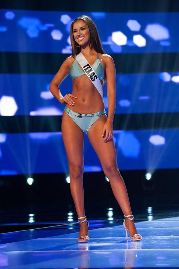 Ngộp thở ngắm thí sinh Hoa hậu Mỹ diện bikini bung lụa hết nấc như thiên thần nội y - Hình 1